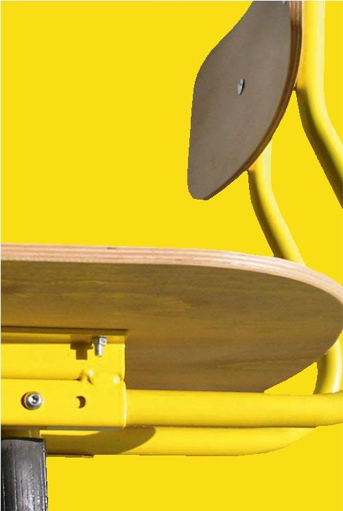 Hephaïstos mobilier ergonomique hergon dossier reglable