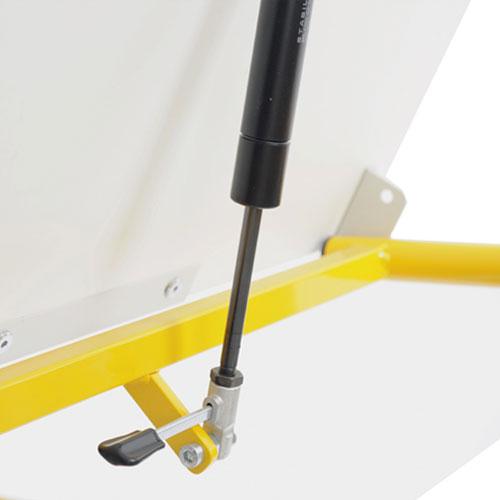 Hephaïstos mobilier ergonomique table hergon vision réglage hauteur table modulable