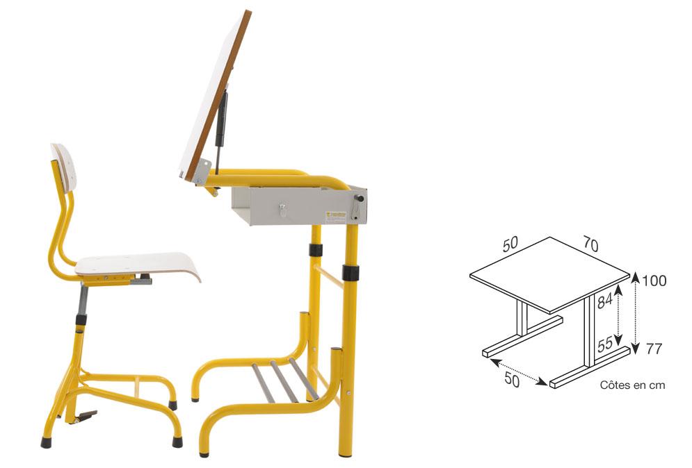 Hephaïstos mobilier ergonomique table ergonomique herift vision dimensions