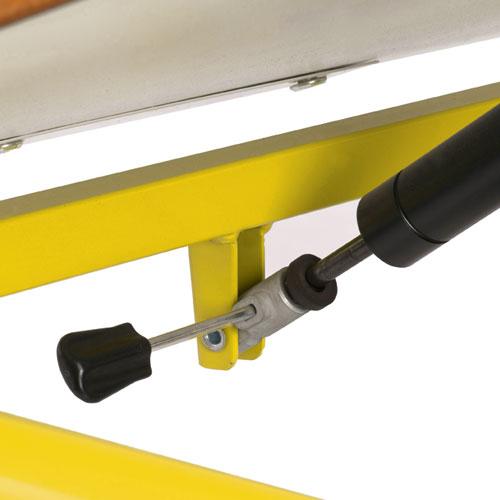 Hephaïstos mobilier ergonomique reglage hauteur par vérin herlift vision