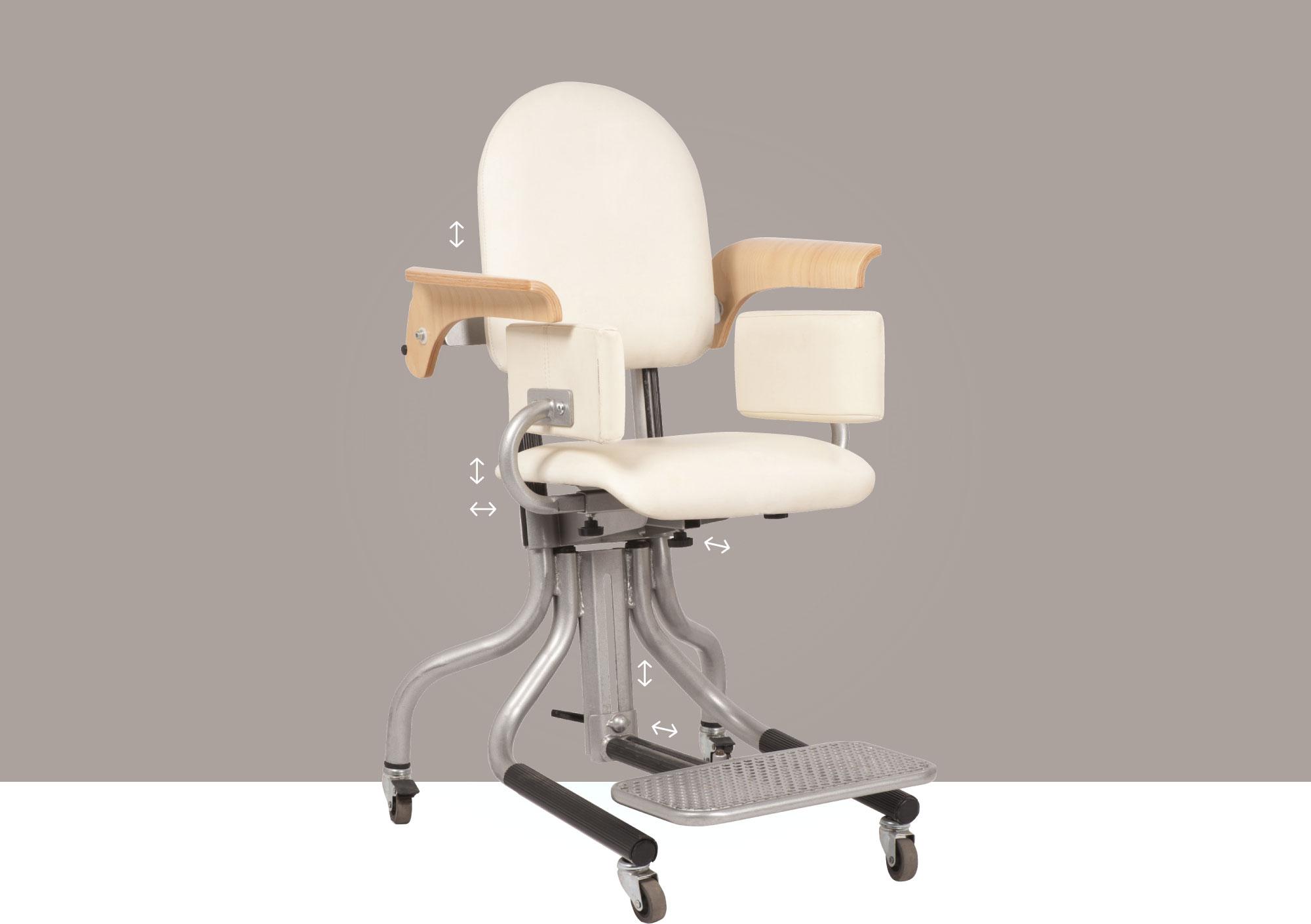 Hephaïstos siège de bureau ergonomique siège modul multiples réglages