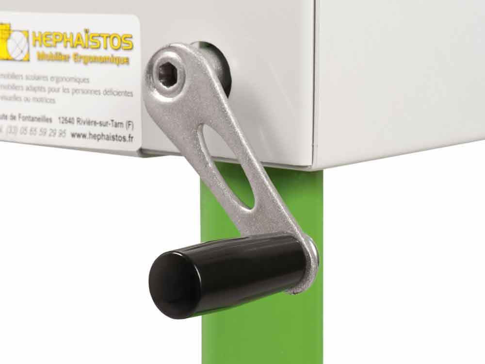 Hephaïstos mobilier ergonomique bureau hauteur réglable Herlift