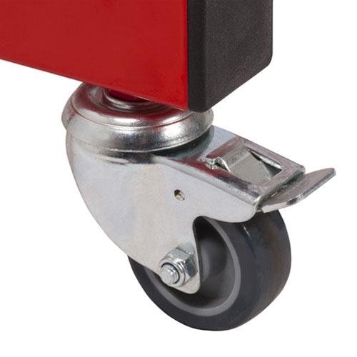 Hephaïstos mobilier ergonomique roulettes frein table handicapée