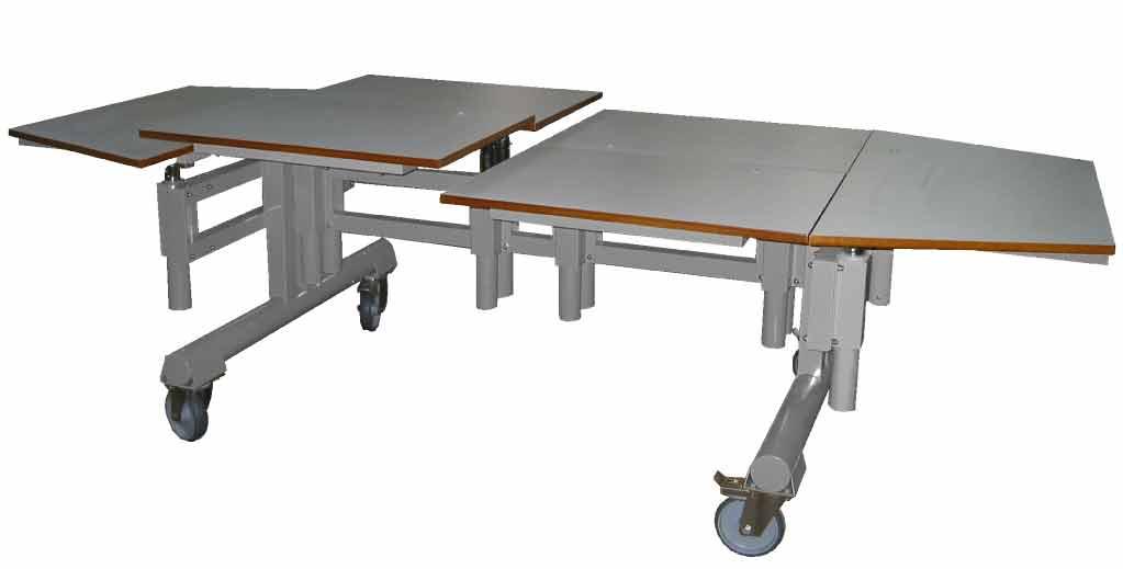 Hephaïstos mobilier ergonomique Cronos table mutiple