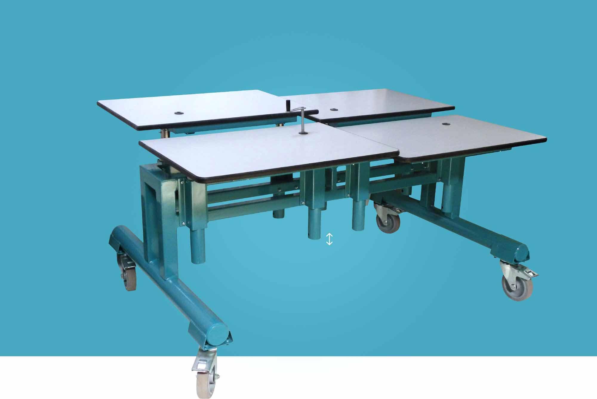 Hephaïstos mobilier ergonomique Cronos table hauteur réglable