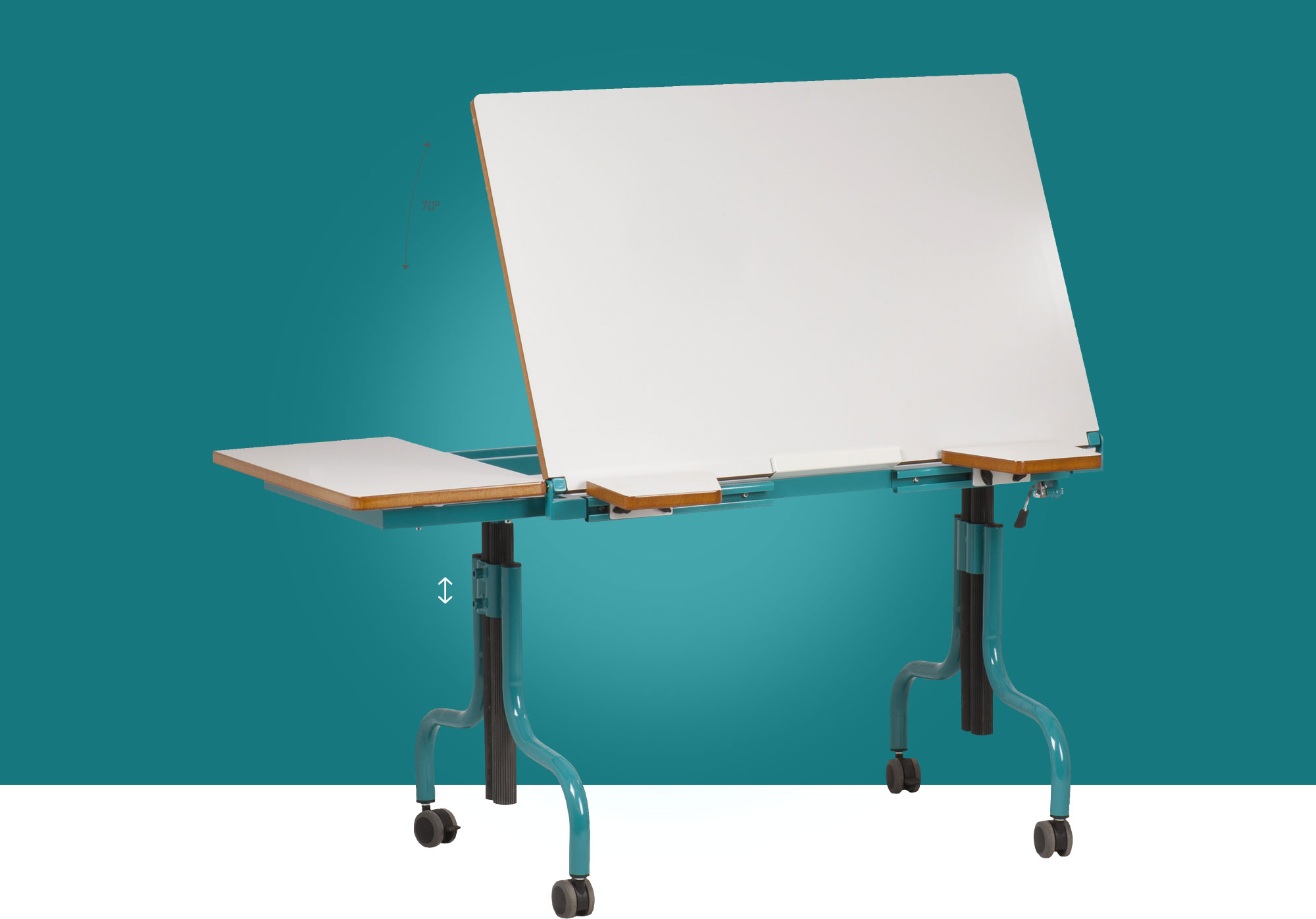 Hephaïstos mobilier ergonomique table individuelle Demeter