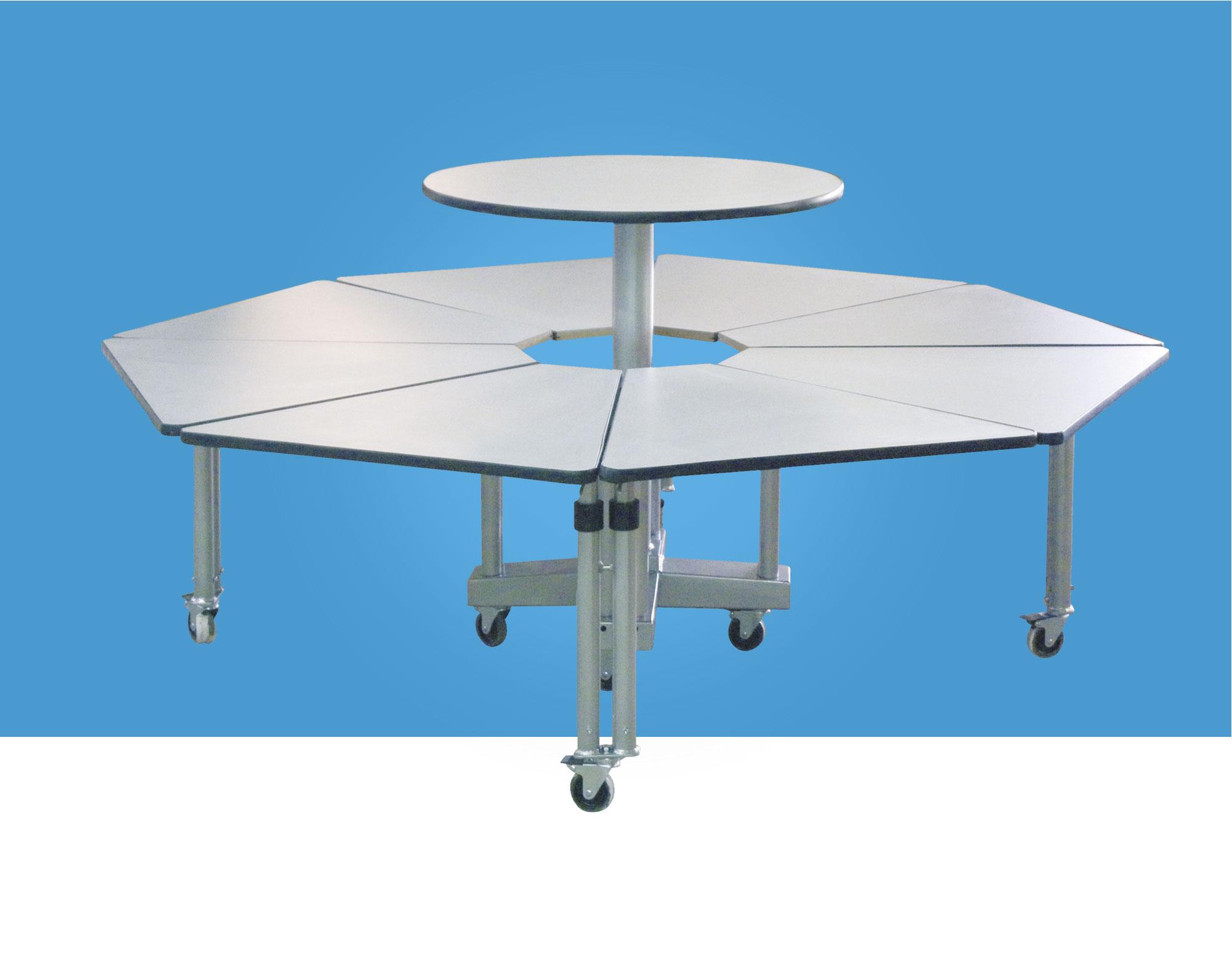 hephaistos gamme handicap table multi-réglages mobilier adapté
